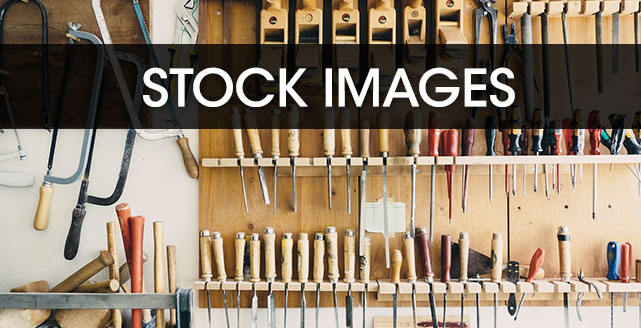 Stock images is another type of visual content