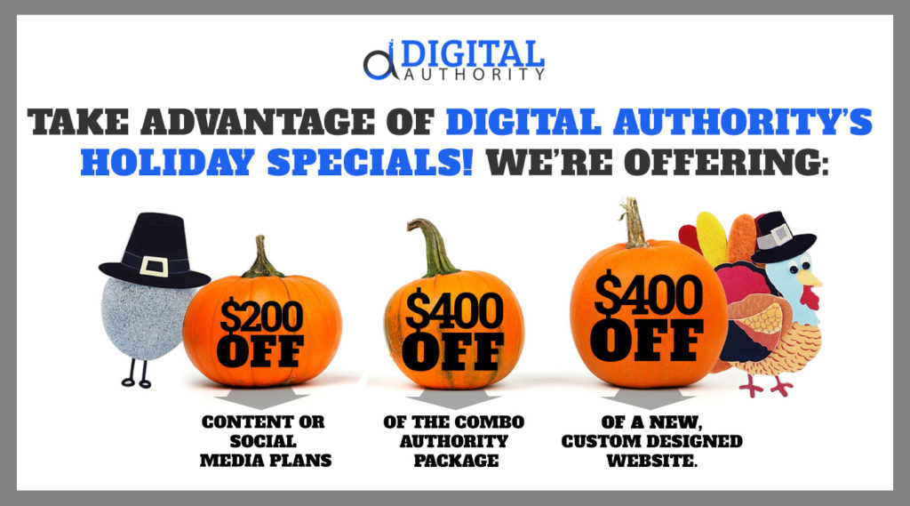 Digital Authority Holiday Promotion