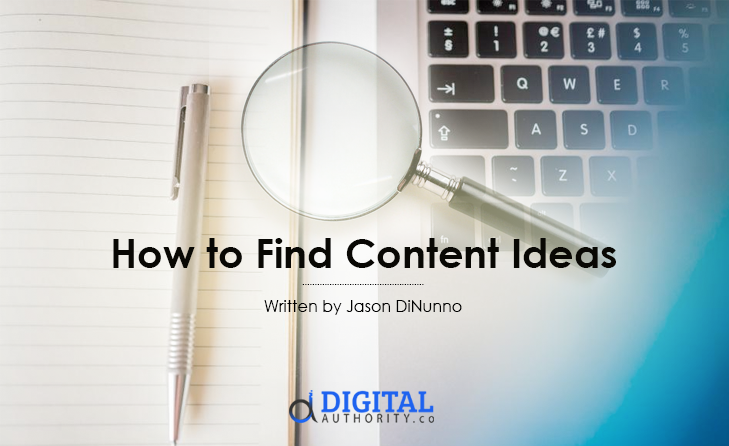how to find content idead featured image with title