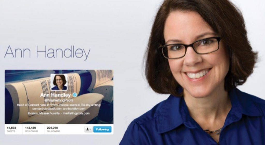 42 Content & Social Media Influencers - Ann Handley