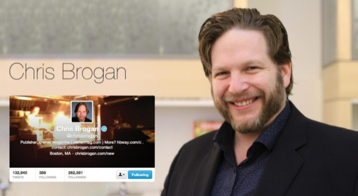 42 Content & Social Media Influencers - Chris Brogan