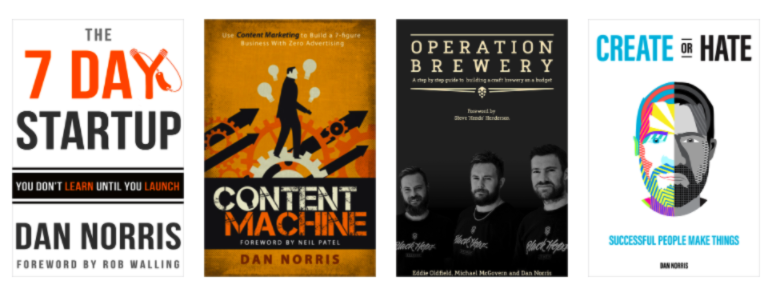 42 Content & Social Media Influencers - Dan Norris