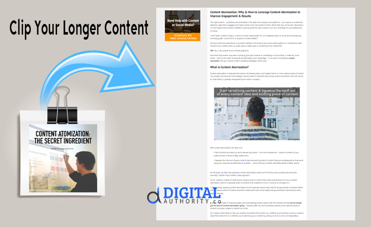ontent Distribution & Syndication - Clip Your Longer Content