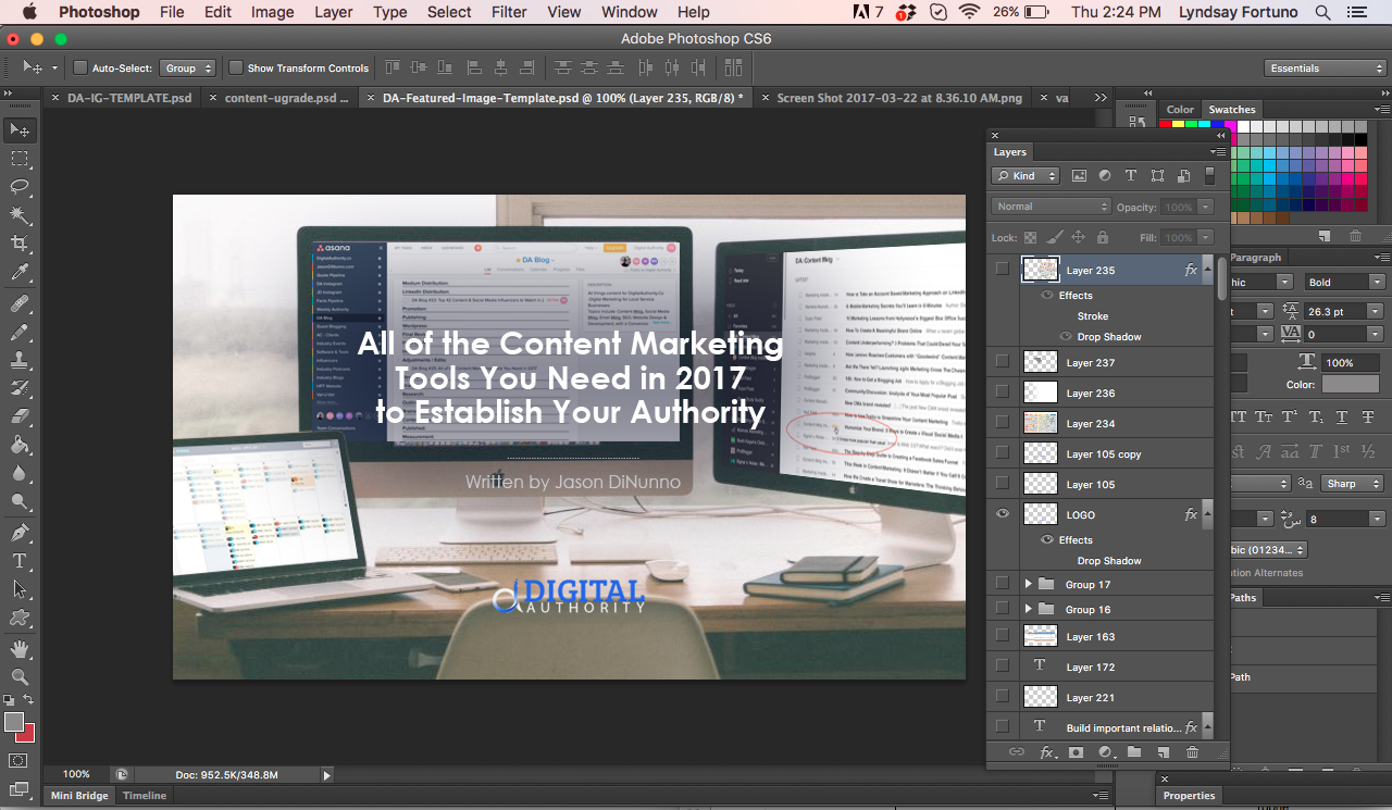 content marketing tools 2017 - photoshop